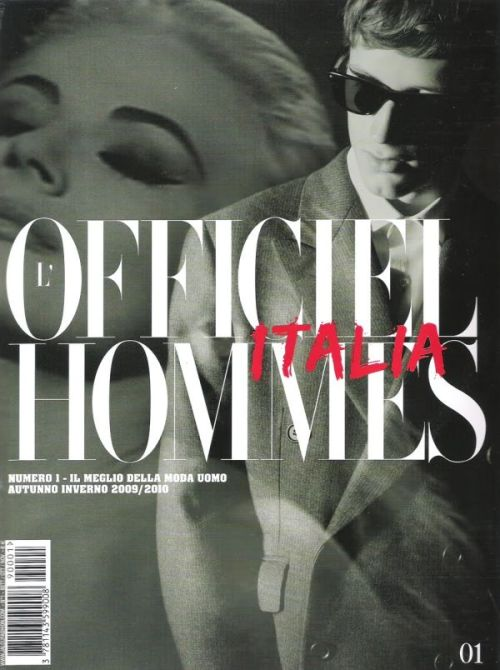 L'OFFICIEL HOMMES ITALIA NUMERO ONE