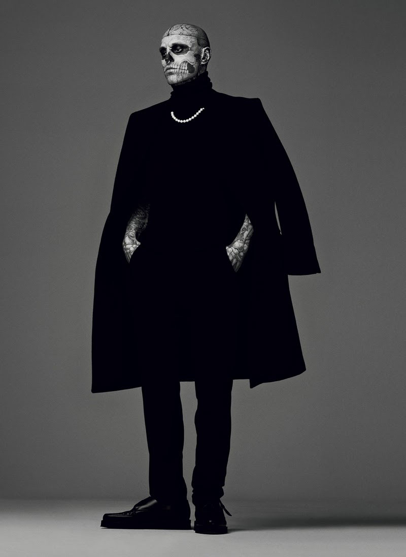 Rick Genest For Mugler Fall
